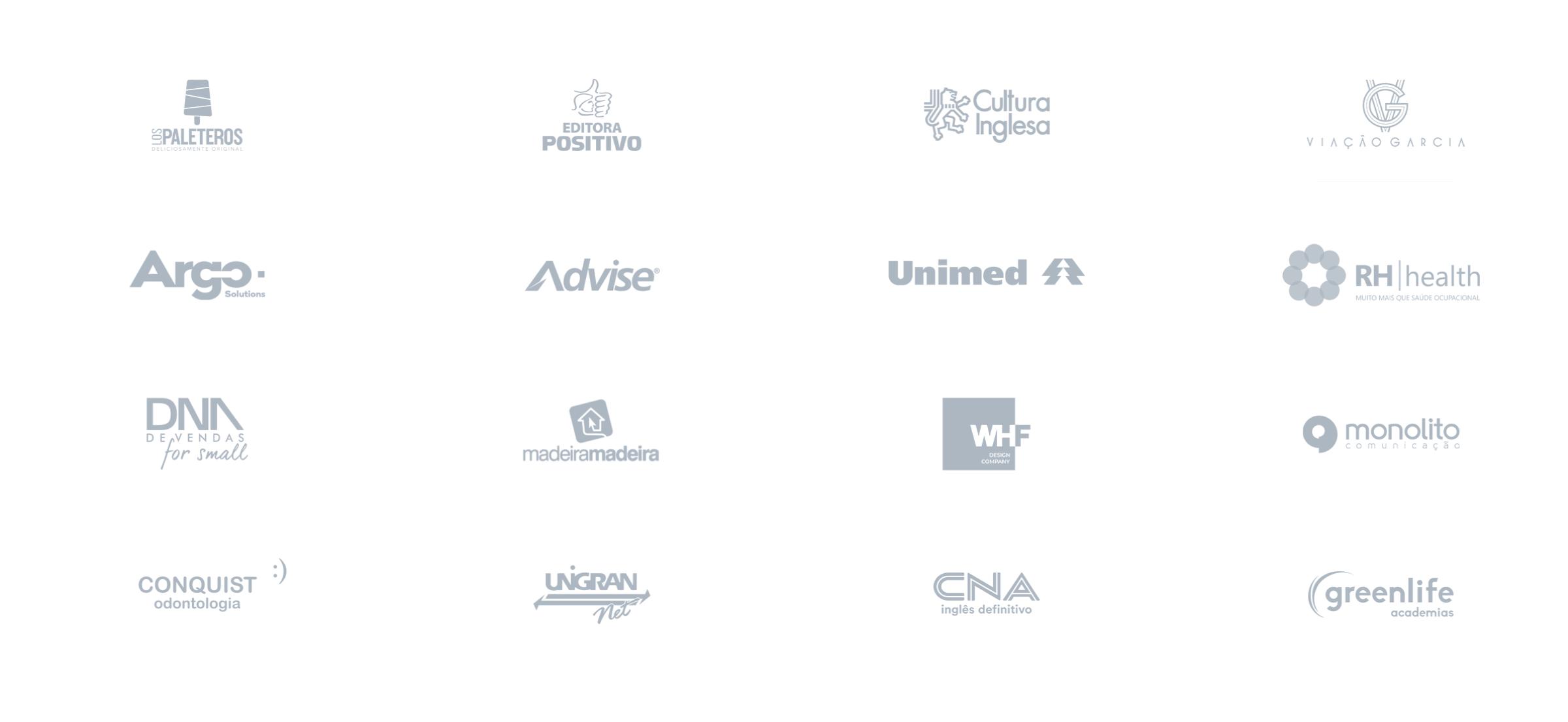 Empresas parceiras do moskit