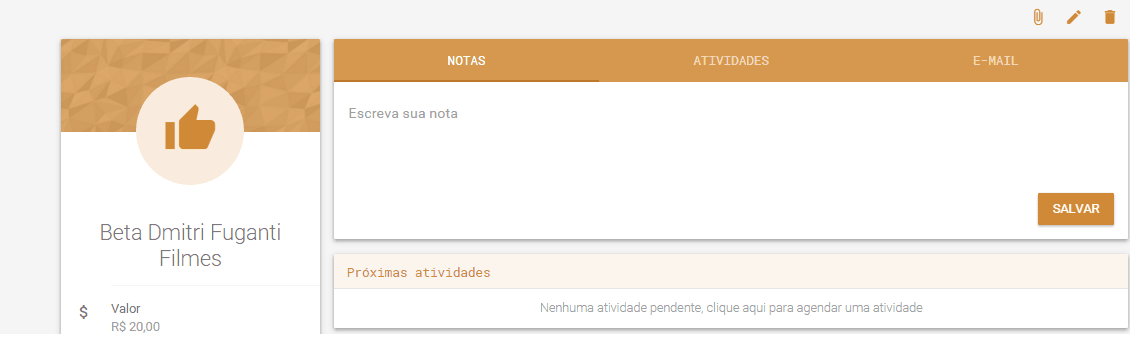 NOTAS CRM