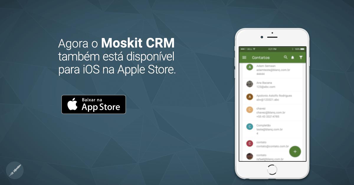 Aplicativo Moskit para iOS: confira as novidades!