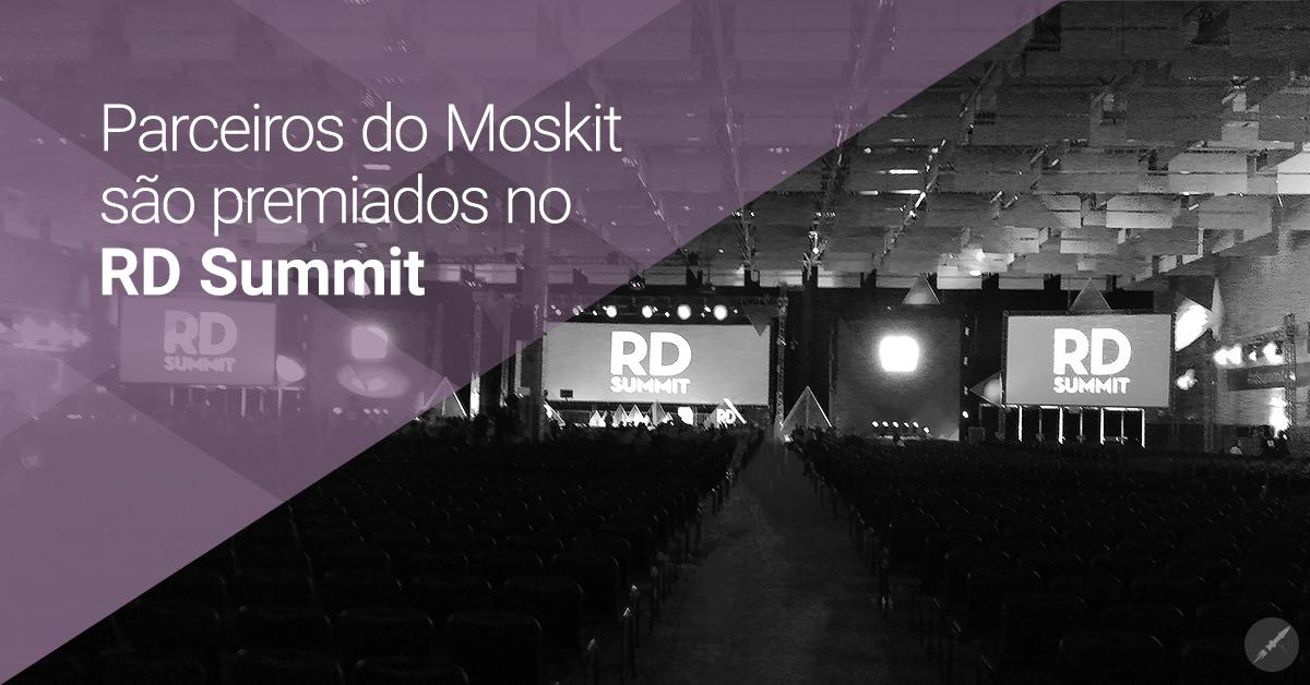 Parceiros Moskit levam prêmios no RD Summit